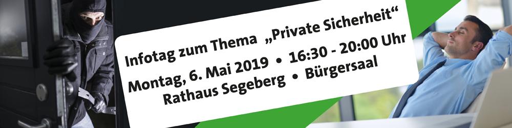Header Infotag Sicherheit 06.05.2019 Bad Segeberg